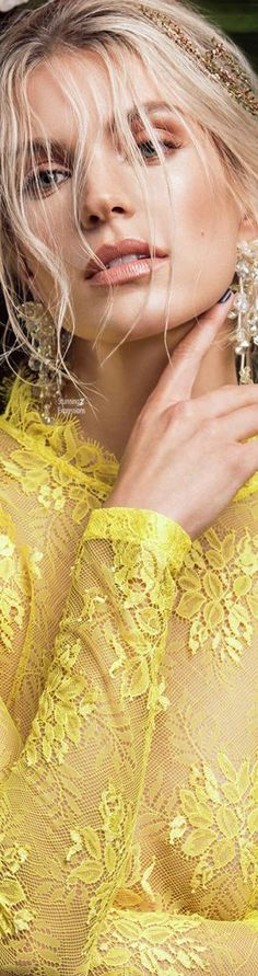 Color Palette Yellow: Fashion, Beauty, Accessories, Home Decor and Nature in shades of Yellow. Yellow Orchid, Yellow Fashion, Rainbow Fashion, Floral Fashion, Color Fashion, Mellow Yellow, Color Yellow, Bright Yellow, Shades Of Yellow
