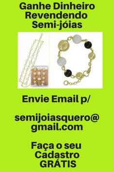 7038684a7 Ganhe Dinheiro com Semi-jóias - Revenda Semi-joias - Revenda Semi Joias Faça