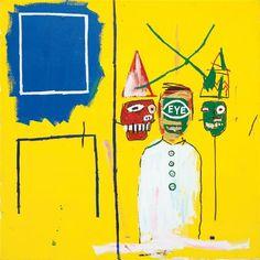 Three Pontificators, 1984 Jean-Michel Basquiat