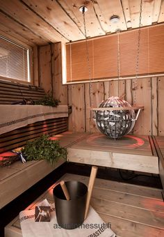 Spa Villa Rock n' Relax - Sauna | Asuntomessut Lappenrannassa 2012