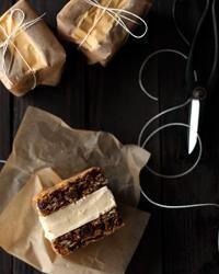 oatmeal cookie ice cream sandwiches