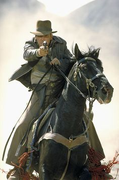 Professor Henry Jones: Those people are trying to kill us!  Indiana Jones: [shouts] I know, Dad!  Professor Henry Jones: This is a new experience for me.  Indiana Jones: It happens to me all the time.