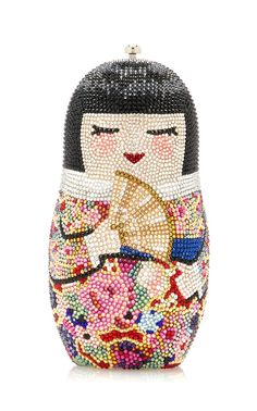 Niko Doll Clutch by JUDITH LEIBER COUTURE for Preorder on Moda Operandi