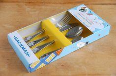 Moomin cutlery set by Hackman