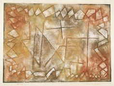 paul klee - within fixed boundaries - 1935