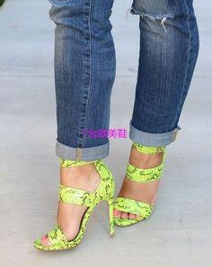 Summer Shoes Gladiator High Heel