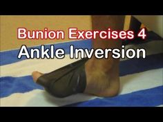 Ankle Strengthening Exercises with Theraband. Theraband Ankle Inversion Exercise…
