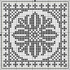 Free Cross Stitch Pattern - Angels Crochet - Apple Chart