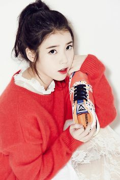 Look at that face. Teen World, Warner Music, Ailee, Love U Forever, Anime Child, Iu Fashion, Girl Bands, Pretty And Cute, Female Portrait