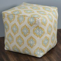 Alcott Hill Erby Cube Ottoman | Wayfair Square Pouf, Upholstered Storage Bench, Leather Pouf, Pouf Ottoman, Framing Materials, Wood Species, Cube, Upholstery, Cushions