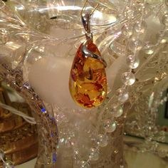 Selling this Amber pendant on Poshmark! My username is: becky1950. #shopmycloset #poshmark #fashion #shopping #style #forsale #Jewelry