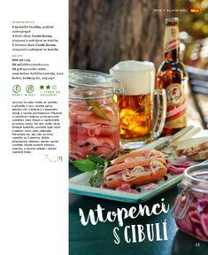 Utopenci s cibulí Vegetables, Pork, Vegetable Recipes, Veggie Food, Veggies