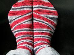 Ravelry: Mystik Spiral Socks pattern by Josh Ryks