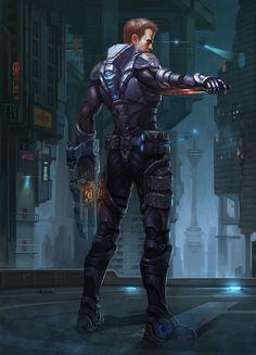 ArtStation - soldier, puz lee