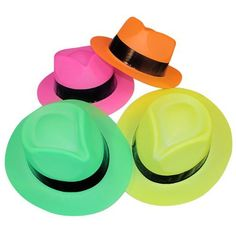 Neon Color Plastic Gangster Hats (12 Pack) Fun Express Educational Products http://www.amazon.com/dp/B003WRXF28/ref=cm_sw_r_pi_dp_qlePvb0SVNJNW
