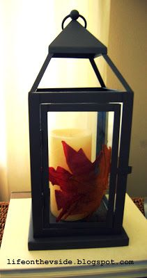 On the V Side: Feels Like Fall! [Fall Decor]