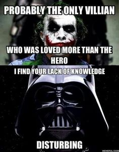 I find your lack of knowledge disturbing