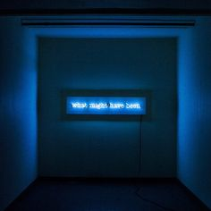 'What might have been' neon by Kemp London