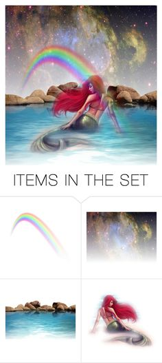 """Ariel, The Little Mermaid"" by valegarcia-reader on Polyvore featuring arte"