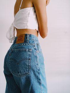336d185d6e 9 Best Vintage high waisted jeans images | Dressing up, 90s mom ...