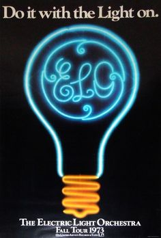 The Electric Light Orchestra - 1973 tour poster.