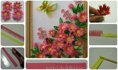 Make a beautiful paper flower show piece ~ Crazzy Craft