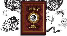 Habibi (Craig Thompson) Craig Thompson, Books, Libros, Book, Book Illustrations, Libri