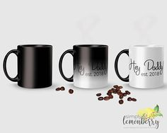 Looking for a unique and memorable way to announce your pregnancy to your loved ones? How about a message revealing mug? When the mug gets hot, a secret message appears! How cool is that?! Perfect for your husband, mom, dad, sister, brother, and more!
