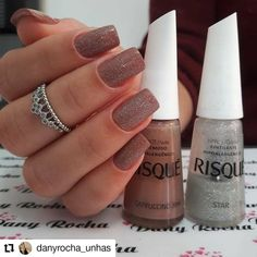 Nails Cute Color Manicures Ideas For 2019 Elegant Nails, Classy Nails, Simple Nails, Trendy Nails, Love Nails, My Nails, Nail Designer, Luxury Nails, Super Nails