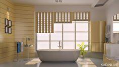 Banyo için duvar kağıdı önerileri | Kadinlive.com