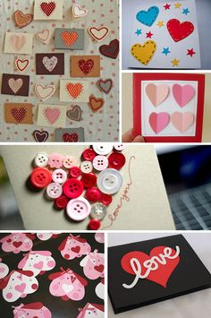 DIY v-day cards