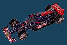 This nice paper model version of the 2015`s Formula 1 Toro Rosso racing vehicle in 1/64 scale (the same scale of Matchbox and Hot Wheels m...