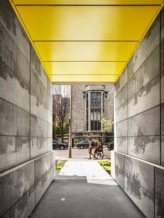 Studentenwohnheim in Montreal / Fassade mit Geschichte - Architektur und Architekten - News / Meldungen / Nachrichten - BauNetz.de