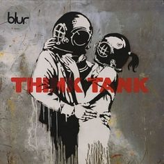 Think Tank - Bansky - Blur music cover