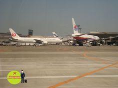 at Narita airport