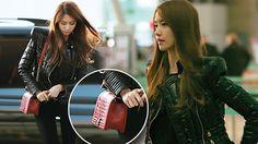 Yoona with Chanel boy bag