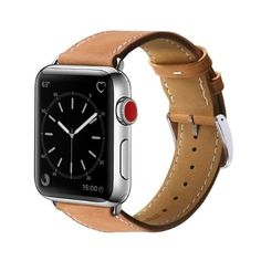 Marge Plus Compatible Apple Watch Band Genuine Leather for iwatch Strap Compatible with Apple Watch Series 4 Series 3 Series 2 Series 1 Sport Edition, Black. 🎊🎊Compatible Models: Compatible with Apple Watch Series 4 Series 3 Series 2 Series 1 Case. Apple Watch 42mm, Best Apple Watch, Apple Watch Nike, Apple Watch Series 2, Web Design, Thing 1, Leather Wristbands, Bracelet Cuir, Leather Watch Bands