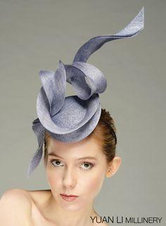 b1e2c4c1334e Couture Hats   fascinators combine classic styles with modern edge and fun. Yuan  Li London
