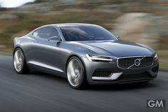 ボルボ コンセプトクーペ (Volvo Concept Coupe)のオフィシャル写真を公開