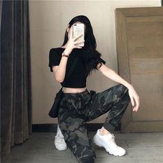 fashion outfits teenage korean for your perfect look this summer. teenage korean Fashion Outfits Teenage korean For Your Perfect Look This Summer Teenage Outfits, Edgy Outfits, Mode Outfits, Grunge Outfits, Girl Outfits, Fashion Outfits, Fashion Tips, Grunge Shoes, Fashion Ideas