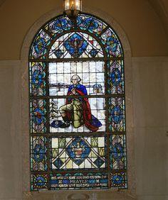 George Washington Stained Glass