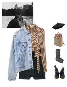 """""""Chapter 13."""" by greciapaola ❤ liked on Polyvore featuring Vetements, Diane Von Furstenberg, Levi's, Chanel, M&Co, Dr. Martens and Kate Spade"""