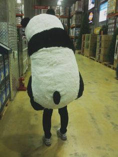 I have the real one, but, a GIANT stuffed Panda would be freaking AMAZING!!!!