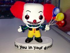 Pennywise figurine, customed by Venom Collections >>> http://www.facebook.com/photo.php?fbid=438113172924923=a.438113016258272.96828.437837729619134=3
