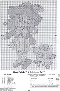 Welcome To The World Of Strawberry Shortcake: Plum Puddin' and Elderberry Owl