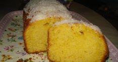 Κέικ με καρύδα ο αφρός της γεύσης         ~          Οι συνταγές της μαμάς μου Cornbread, Sweets, Ethnic Recipes, Food, Breads, Millet Bread, Bread Rolls, Gummi Candy, Candy