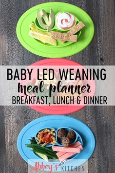 Baby Led Weaning Meal Planner for Babies and Toddlers You can find Led and more on our website.Baby Led Weaning Meal Planner for Babies and Toddlers Baby Led Weaning Lunch Ideas, Baby Led Weaning Breakfast, Baby Led Weaning First Foods, Weaning Foods, Baby Weaning, Baby Breakfast, Baby Meal Plan, Dinner Menu, Lunch Menu