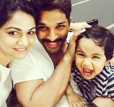 Pic talk: Allu Arjun family album picture perfect  - Read more at: http://ift.tt/1PYavy2