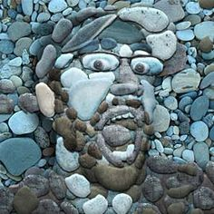 Master Art Series (Arcimboldo): Rock art people. Create the art, photograph the art, and manipulate in photoshop. Turn in the photo.