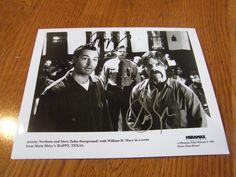 Steve Zahn & Jeremy Northam Autographed 8x10 Photo Happy Texas Hand Signed